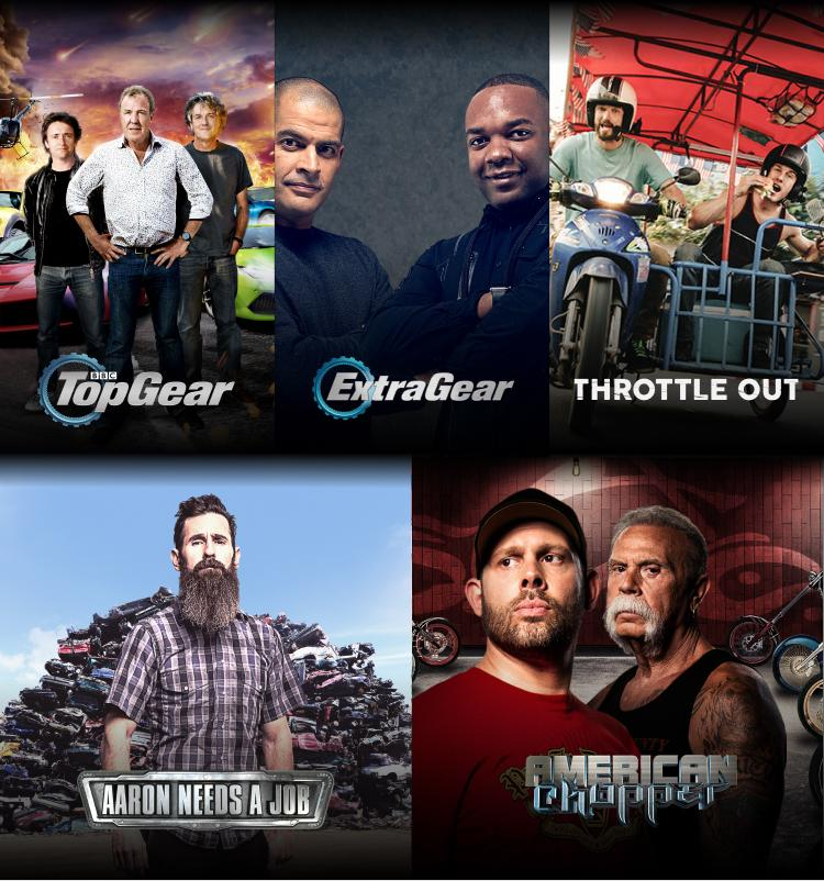Watch Car TV Shows & Motorsports Online - Auto TV Shows on